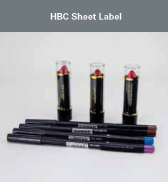 HBC Sheet Label